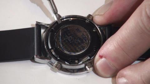 Repair manual electronic clock Footage