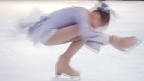 Element of Figure Skating Footage