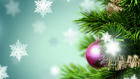 Beautiful Christmas Background stock footage