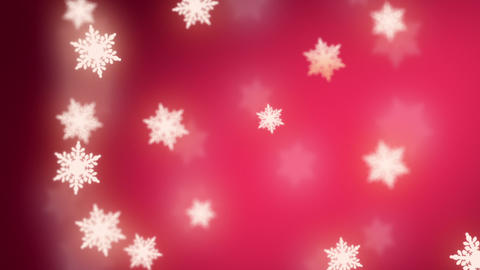 falling snowflakes background Animation