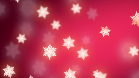 falling snowflakes background Stock Video Footage
