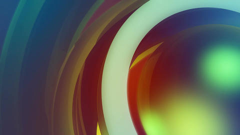 colorful corner overlay Stock Video Footage