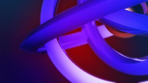 orbital rings sphere Stock Video Footage