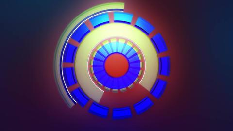 energetic glowing reactor Animation