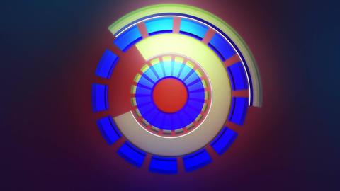 energetic glowing reactor Stock Video Footage
