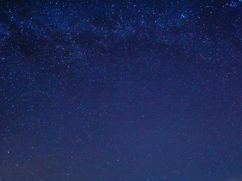 Milky way around the pole star. Time Lapse Stock Video Footage