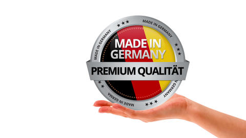 Made in Germany Stock Video Footage
