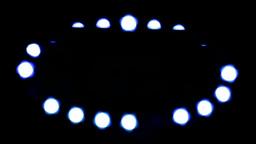 Lights dancing bokeh Stock Video Footage