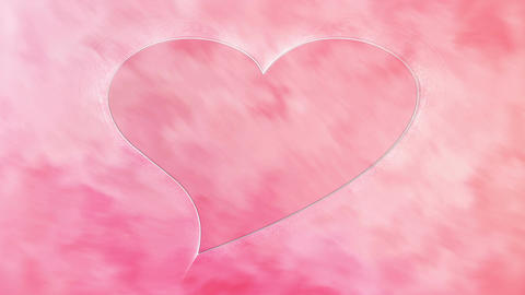 Pink Heart Stock Video Footage