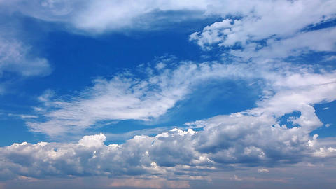 Sky And Clouds - Timelapse stock footage