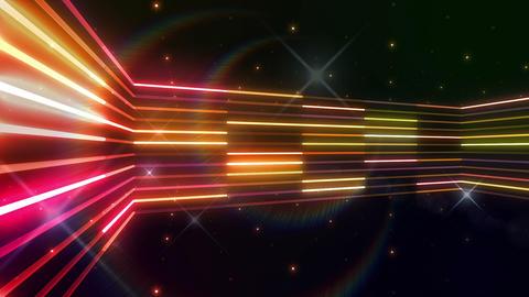 Neon tube R b C 5 HD Stock Video Footage