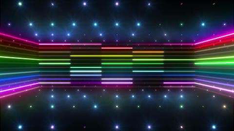 Neon tube R b D 5 HD CG動画