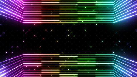 Neon tube R b E 5 HD, CG動画素材