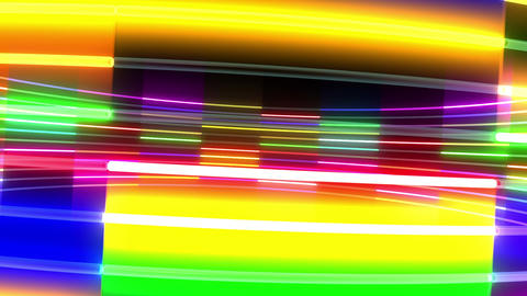Neon tube R c A 5 HD Stock Video Footage