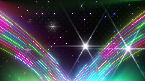 Neon tube R c F 5 HD Stock Video Footage