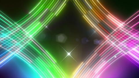 Neon tube R c G 5 HD CG動画