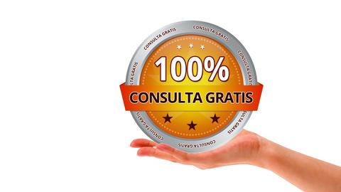 Free Consultation (In spanish) Stock Video Footage