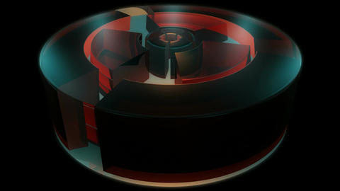 reactor engine cylinder Stock Video Footage