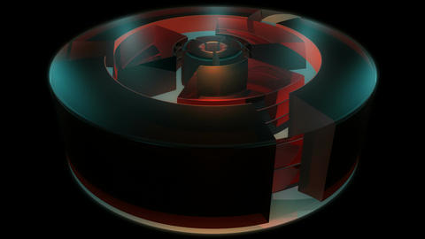 reactor engine cylinder Animation