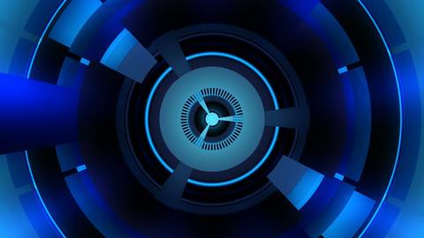 blue energy turbine Stock Video Footage