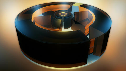 spinning rotor tubes Stock Video Footage
