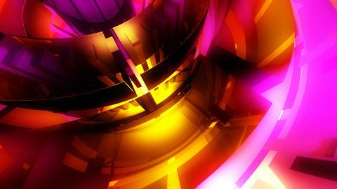 glowing glossy wheel Stock Video Footage