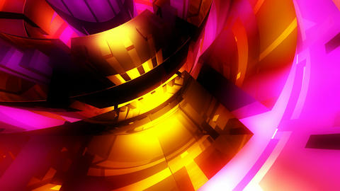 glowing glossy wheel Animation