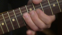 Playing electric guitar 5 Stock Video Footage
