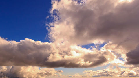 In the clouds. Time Lapse Stock Video Footage