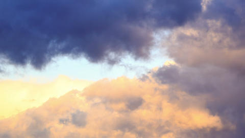 Clouds swirling. Time Lapse Stock Video Footage
