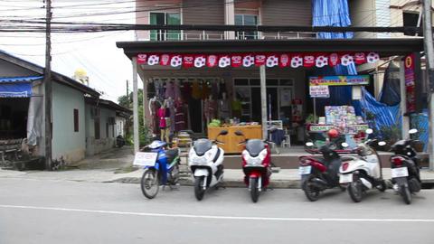 Streets of Phuket Footage