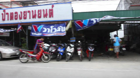 Streets of Phuket Stock Video Footage