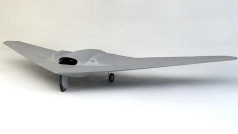 FQ 170 Sentinel Drone 3D Modell