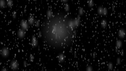 Falling Snow Animation stock footage