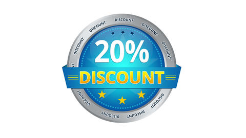 20 percent Discount Animation