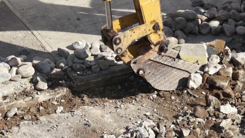 Construction Excavator Footage