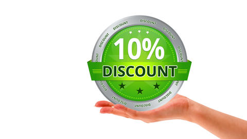 10 percent Discount Stock Video Footage