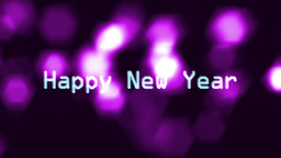 10to 1 countdown purple flare new year Stock Video Footage