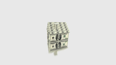 House money dice Stock Video Footage