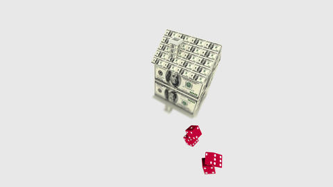 House money dice Animation