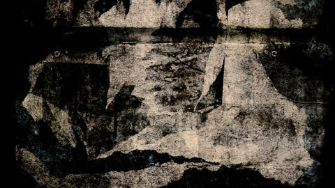 Torn posters Stock Video Footage
