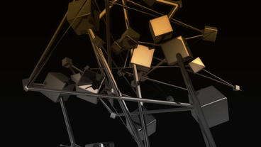 Abstract Futuristic high technology,Movement of me Stock Video Footage