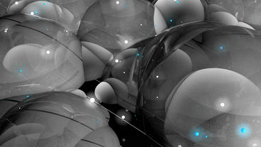 Abstract bubble & blister art background Animation