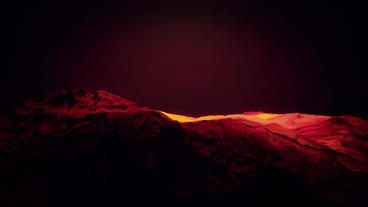 Red Liquid Ocean Sea Water Lava Magma,red Mountain stock footage