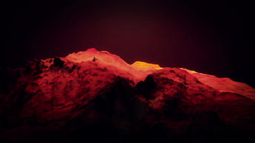Red liquid ocean sea water lava magma,red mountain... Stock Video Footage