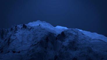 Blue liquid ocean sea water lava magma,mountain orogeny... Stock Video Footage