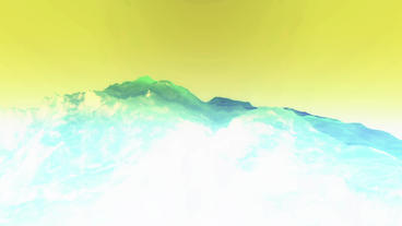 liquid ocean sea water lava magma,mountain spray waves... Stock Video Footage