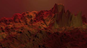 Red liquid ocean sea water lava magma,spray waves &... Stock Video Footage