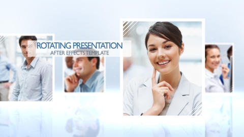 Rotating Presentation - After Effects Template After Effects Template