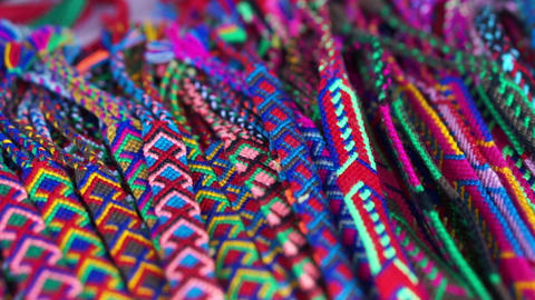 Colorful Garments Stock Video Footage